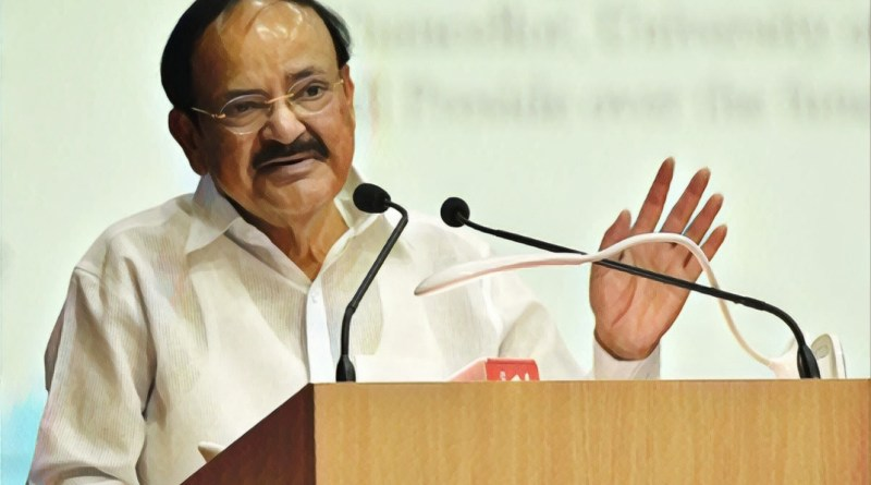 VP Naidu: Learning Sanskrit necessary to maintain living link with our rich past