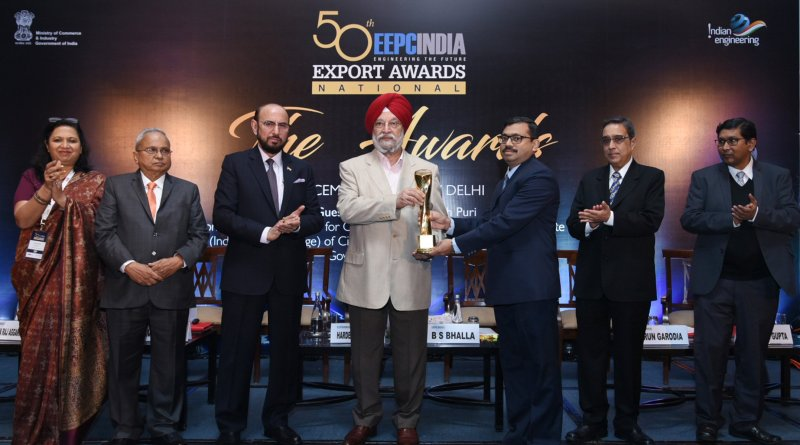 National Engineering Export Awards for 2017-2018 by EEPC & QCI conferred
