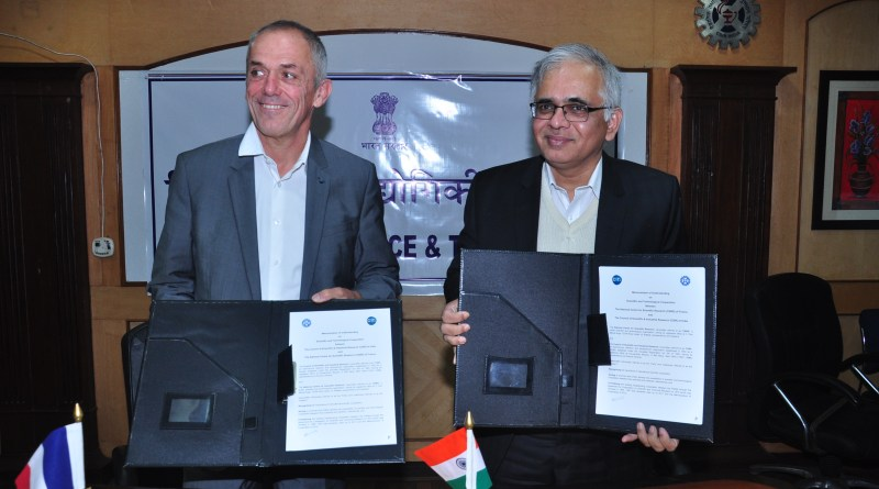 CSIR & France Centre for Scientific Research (NCRS) ink MoU to promote tech research