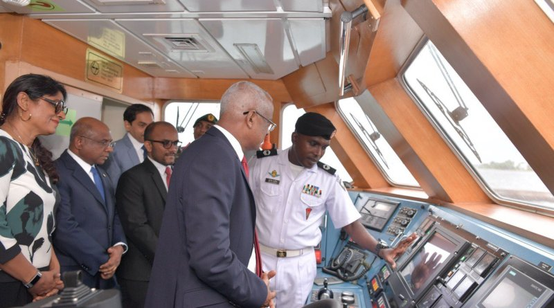 India gifts Coast Guard ship to Maldives, PM Modi inaugurates projects with Maldives' President