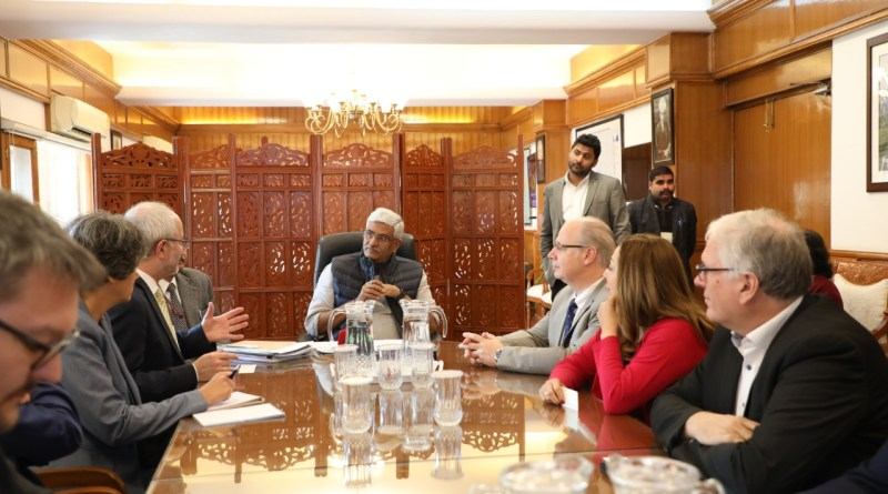 Jal Shakti (Water) Min meets German Parliamentary delegation to discuss rejuvenation of rivers