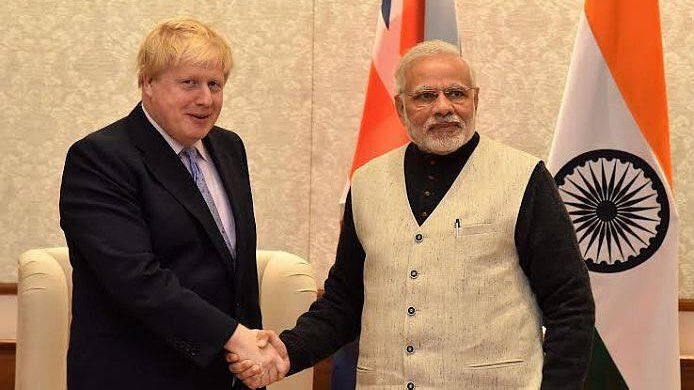 PM Modi congratulates UK PM Boris Johnson invites him to visit India | Indus Dictum