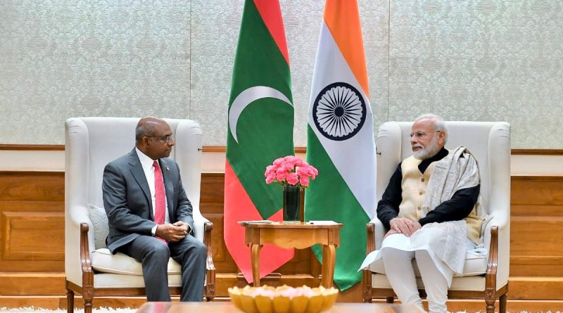 PM Modi meets Abdulla Shahid, Foreign Minister of Maldives