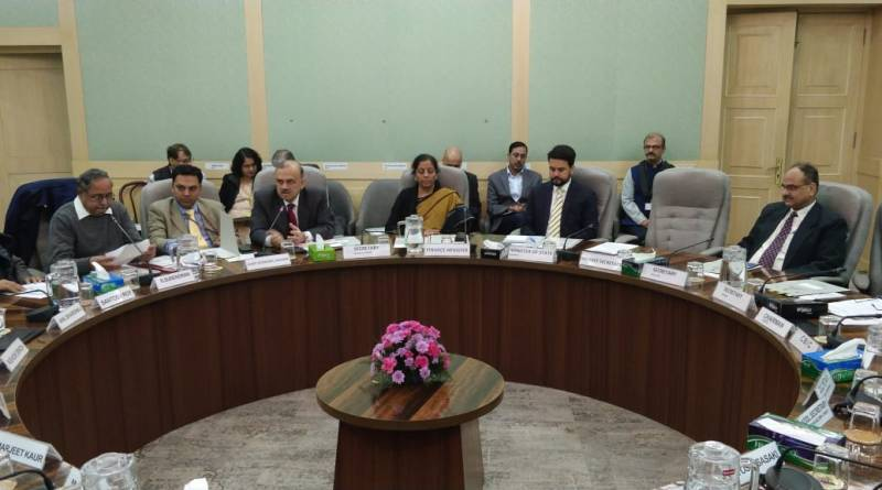Sitharaman meets reps of ILO, LPF, FISME & more; Talks MGNREGA, trade unions & labour