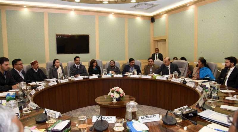 Sitharaman meets reps of WHO, UNICEF, FICCI, JAAGAR & more; Talks water & sanitation