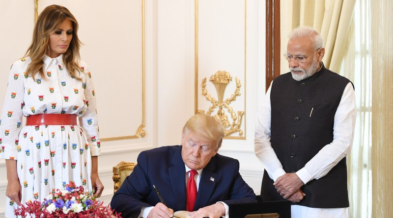 2 MoUs, 1 Letter of Co-op signed during US President Donald Trump's India visit