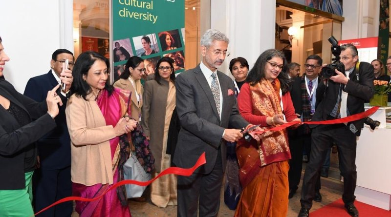 Berlinale 2020: MEA Jaishankar opens India pavilion, unveils IFFI poster & invites film makers