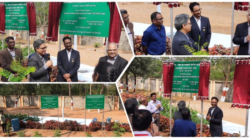 CSIR-NEERI sets up eco-friendly sewage treatment plant at ARCI, Hyderabad