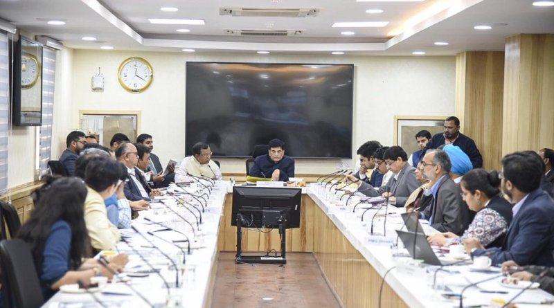 Commerce Minister Piyush Goyal reviews 17 large infra projects, investments