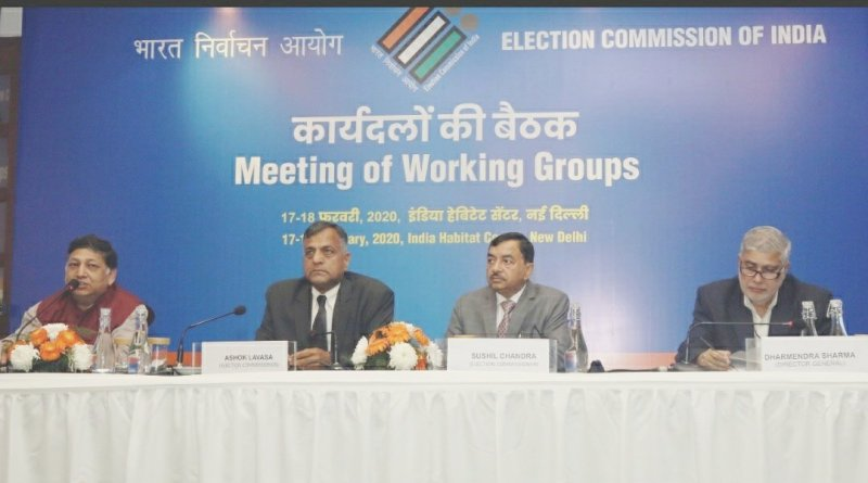 Election Commission working groups present draft changes to ECI