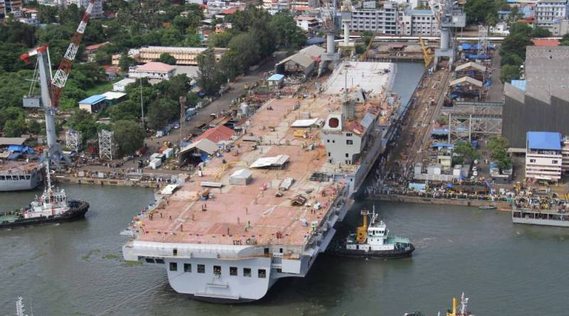 Indian Navy's indigenous aircraft carrier has completed major trials: MoS Defence