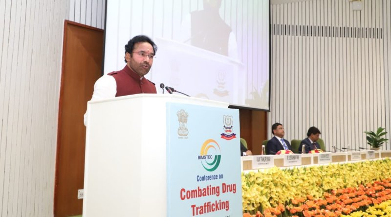 MoS Home Reddy calls for concerted efforts by BIMSTEC nations to combat drug trafficking