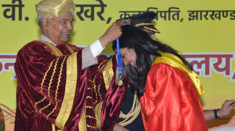 Prez Kovind addresses 1st convocation of Central Univ, Jharkhand
