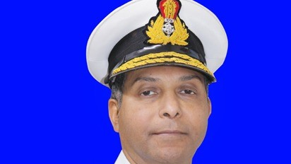 Rear Admiral Antony George takes over as Chief Staff Officer, Southern Naval Command