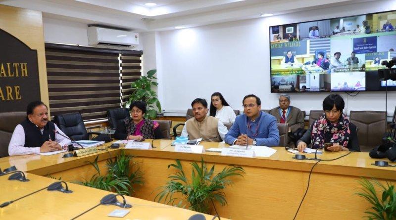 Coronavirus: Health Minister Vardhan reviews availability of beds, isolation wards, labs