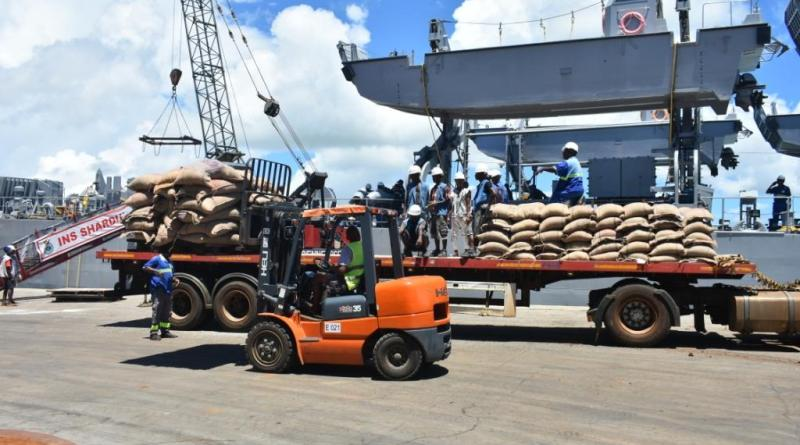 Govt ships Indian Navy with 600 tons of rice to Madagascar in relief effort