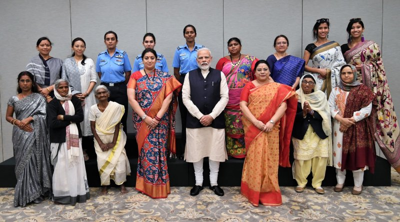 PM Modi meets Nari Shakti award winners, lauds their courage