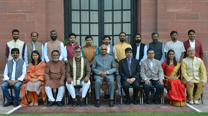 Prez Kovind confers Lalit Kala Akademi awards on 15 artists