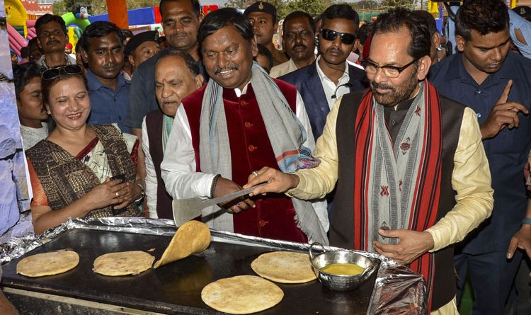 Ranchi Hunar Haat: 1st Jharkhand event inaugurated by Minority Affairs Minister Naqvi