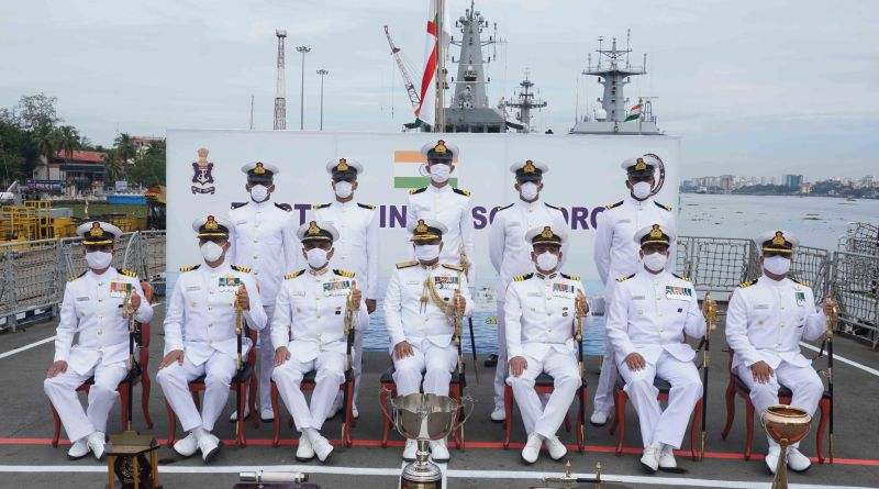 Officer Trainees pass 98th Integrated Officers Trainee course at naval base