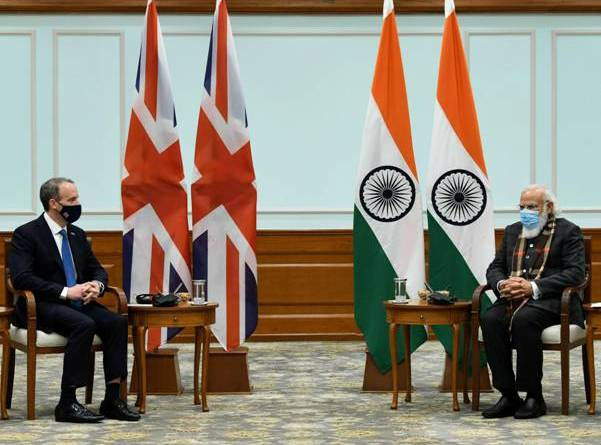 UK Foreign Secretary discuses strategic partnership with PM Modi | indusdictum