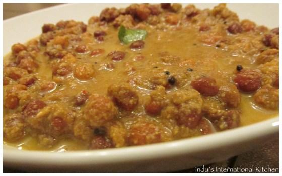 Black Chana Curry (Kadala curry)