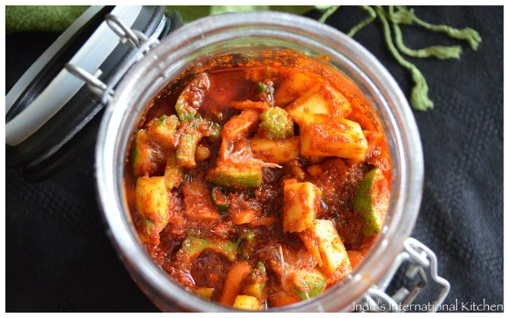 South Indian Mixed veg pickle