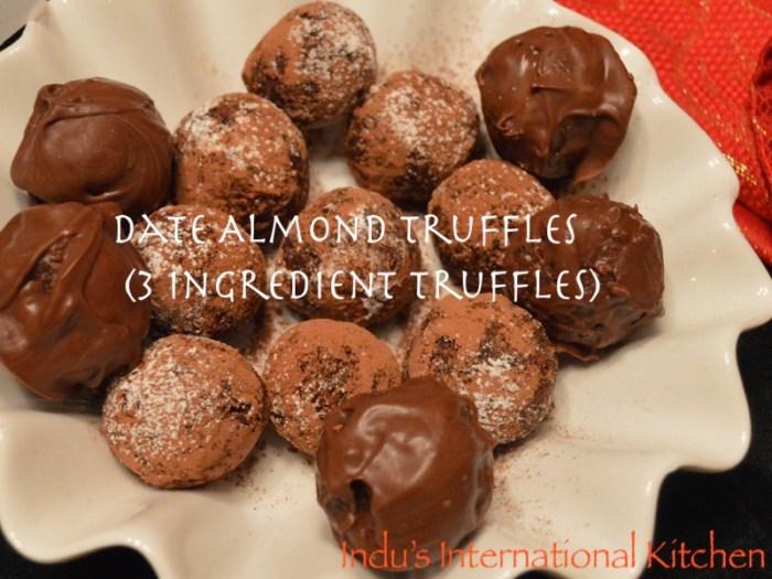 Date Almond Truffles