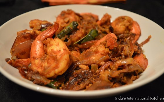Spicy Shrimp masala