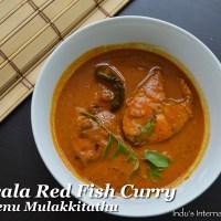 Kerala Red Fish Curry  (Meenu Mulakittathu)