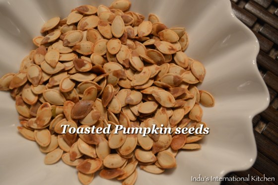 how to toast pumpkin seeds