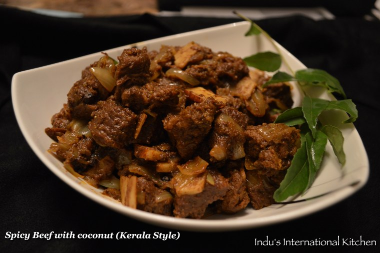 CURRIED BEEF WITH COCONUT (PALEO)