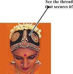 Bharatanatyam How To Tie Hair Very Urgent Please Indusladies