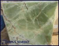 DARK GREEN ONYX TILE  INDUS MARBLE