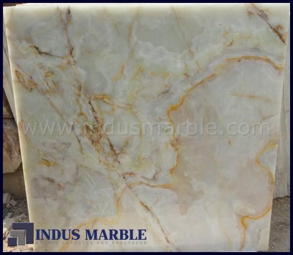 Light Green Onyx Tile Indus Marble