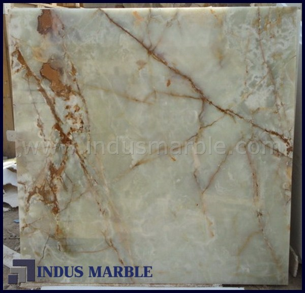 Light Green Onyx Tile Indus Marble