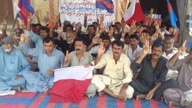 Photo of فريدآباد: پڇڙي تائين پاڻي نه پھچي سگھيو، آبادگار سراپا احتجاج بڻيل