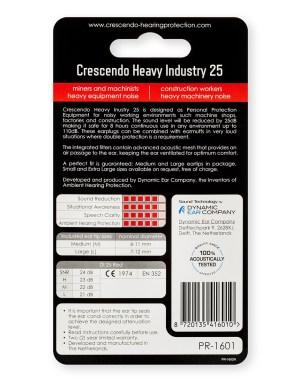 Crescendo Industri 25 ørepropper