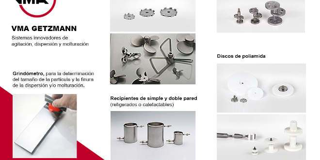 VMA Getzmann Accesorios dispersion molturación