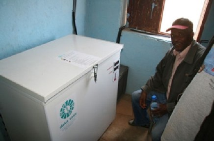Dulas solar fridge for ethiopia