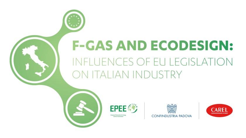 F-GAS AND ECODESIGN LOGO