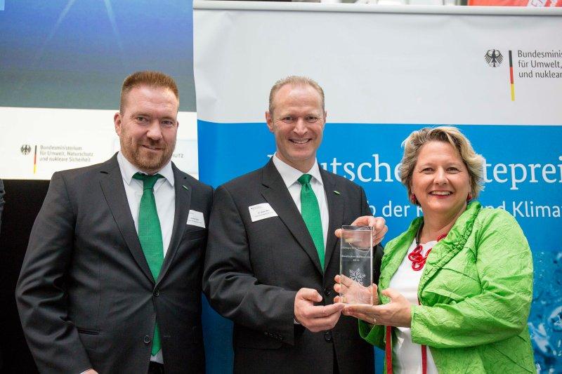 Verleihung des Kältepreises 2018 im Ludwig Erhard Haus mit Bundesumweltministerin Svenja Schulze