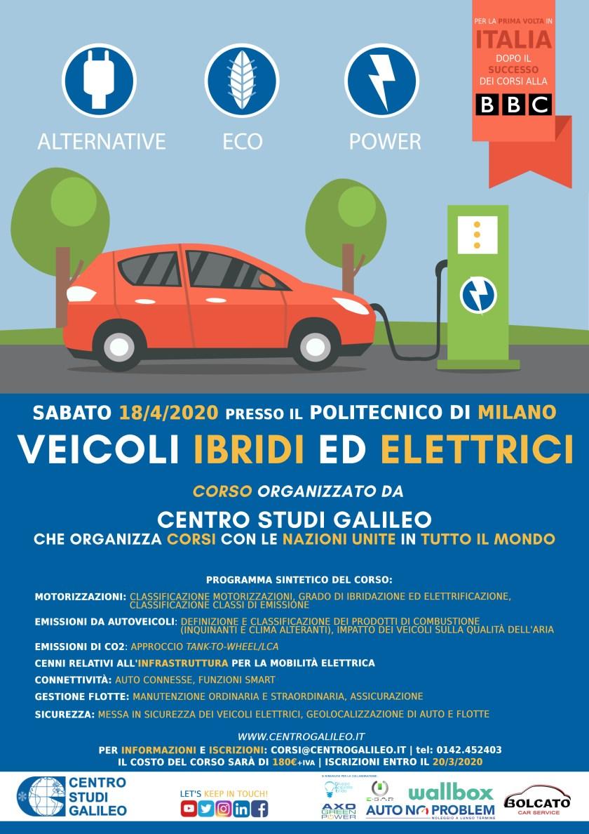 Corso Veicoli Elettrici CSG