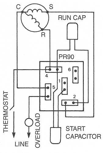 Starter Relay Wiring Diagram : starter, relay, wiring, diagram, Potential, Relays, Solid-State, Starting, Devices, Motor, Bearings, Drives, (Components, Electric, Motors)