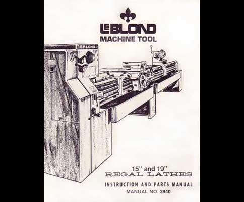 Leblond Regal Lathe Manual