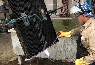 rebuilding radiator core