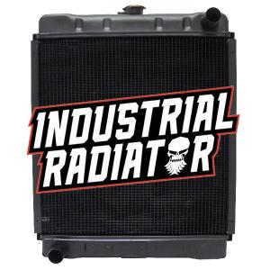 Ford/New Holland / John Deere Radiator - 18 5/16 x 18 x 3 1/4