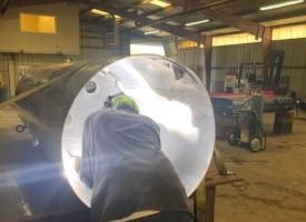 Aluminum welding service fuel tanks