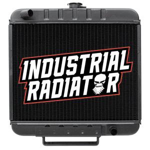 Case/IH Skidsteer Radiator -- 13 1/2 x 18 x 2