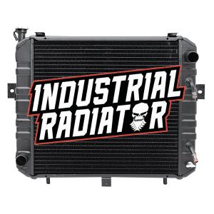 Komatsu Forklift Radiator - 17 3/4 x16 5/8 x 2 5/8